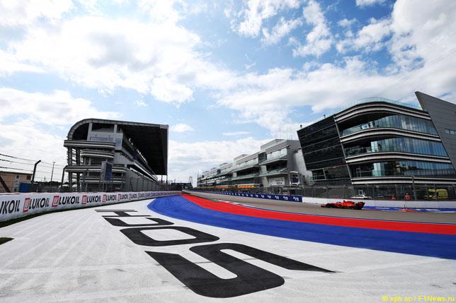F1 в Сочи уже в ближайшие выходные